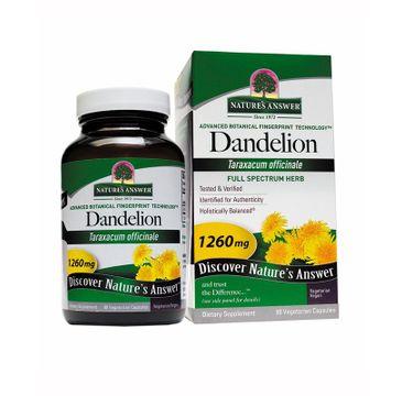 Nature's Answer Dandelion korzeń mniszka lekarskiego suplement diety 90 kapsułek