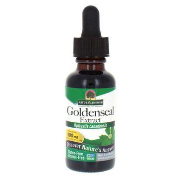 Nature's Answer Goldenseal Extract ekstrakt z korzenia gorzknika kanadyjskiego suplement diety 30ml