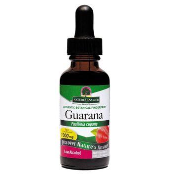 Nature's Answer Guarana ekstrakt z nasion guarany suplement diety 30ml
