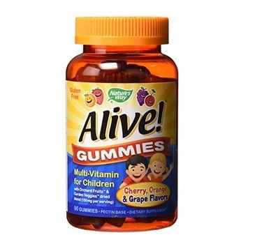 Nature's Way Alive! Gummies multiwitamina dla dzieci suplement diety 90 żelek