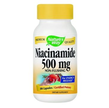 Nature's Way Niacinamide 500mg niacynamid suplement diety 100 kapsułek