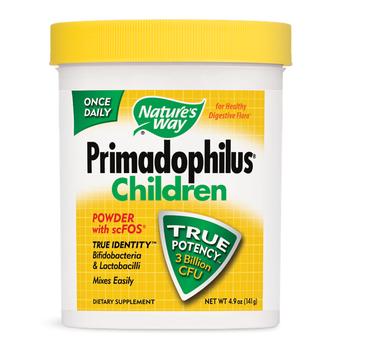 Nature's Way Primadophilus Children 7 szczepów bakterii probiotycznych suplement diety 141g