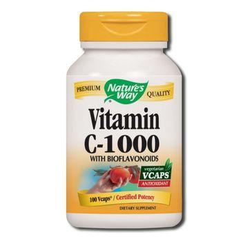 Nature's Way Vitamin C-1000 witamina C z owocem dzikiej róży suplement diety 100 kapsułek