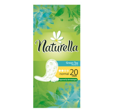 Naturella Wkładki higieniczne Zielona Herbata (20 szt.)