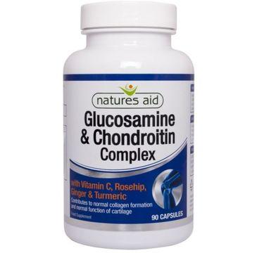 Natures Aid Glucosamine & Chondroitin suplement diety 90 kapsułek