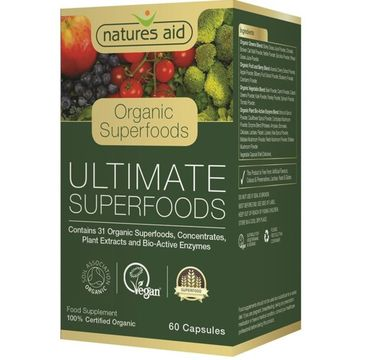 Natures Aid Ultimate Superfood suplement diety 60 kapsułek
