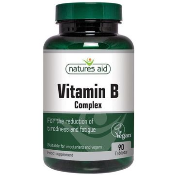 Natures Aid Vitamin B Complex suplement diety 90 tabletek