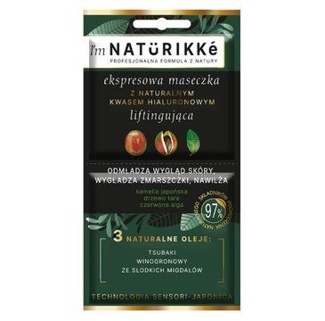Naturikke – Ekspresowa maseczka z naturalnym kwasem hialuronowym (10 ml)