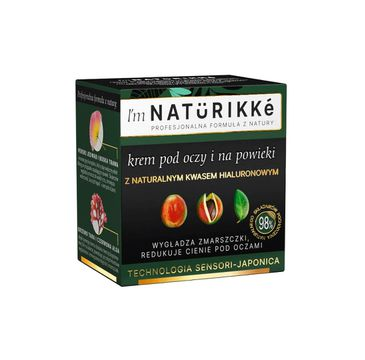 Natürikké – krem pod oczy i na powieki (15 ml)