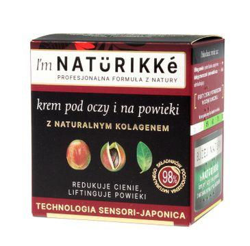 Naturikke – Krem pod oczy i na powieki (15 ml)