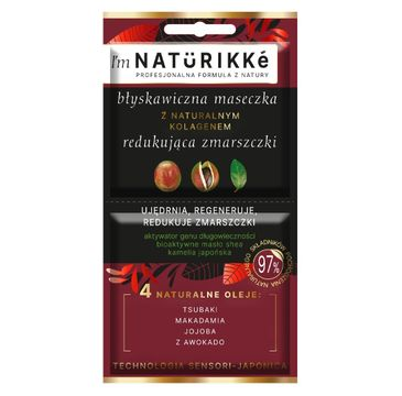 Naturikke – Maseczka przeciwzmarszczkowa (10 ml)