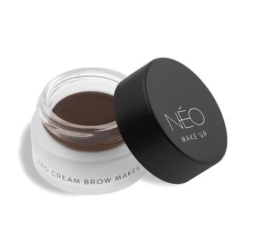 NEO MAKE UP Pro Cream Brow Maker pomada do brwi 02 Dark Brown (5 ml)