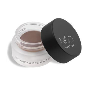 NEO MAKE UP Pro Cream Brow Maker pomada do brwi 03 Light Brown (5 ml)