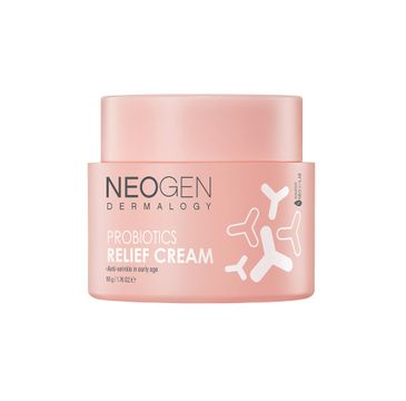 Neogen Probiotics Relief Cream krem ujędrniająco-rozświetlający do twarzy (50 g)
