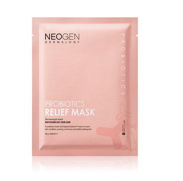 Neogen Probiotics Relief Mask ujędrniająco-rozświetlająca maseczka w płachcie (25 g)