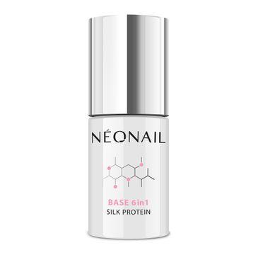 NeoNail Base 6in1 Silk Protein baza proteinowa (7.2 ml)