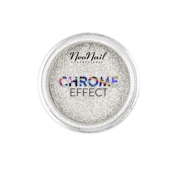 NeoNail Chrome Effect pyłek do paznokci Silver (2 g)