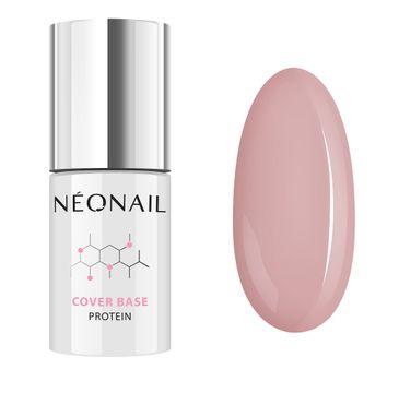 NeoNail Cover Base Protein proteinowa baza hybrydowa Natural Nude (7.2 ml)