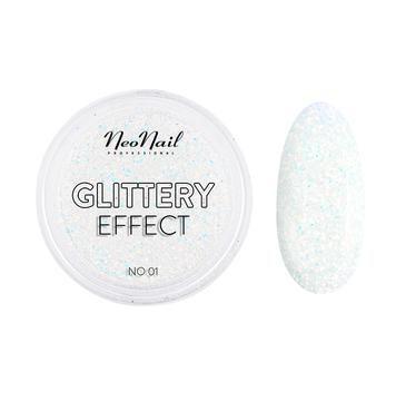 NeoNail Glittery Effect pyłek do paznokci 01 (2 g)