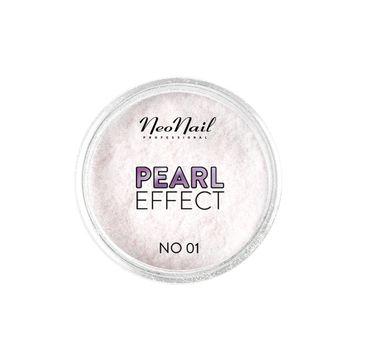 NeoNail Pearl Effect pyłek do paznokci No. 01 (2 g)