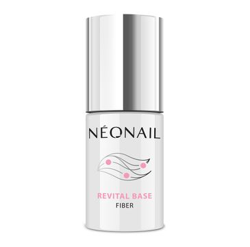 NeoNail Revital Base Fiber wzmacniająca baza hybrydowa Clear (7.2 ml)