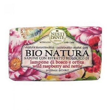 Nesti Dante Bio Natura Wild Raspberry And Nettle mydło toaletowe 250g