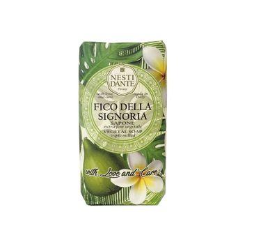 Nesti Dante Fico Della Signoria Sapone naturalne mydło toaletowe Zielona Figa 250g