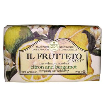 Nesti Dante Il Frutteto mydło na bazie cytryny i bergamotki 250g