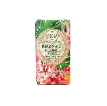 Nesti Dante Regina Di Peonie Sapone naturalne mydło toaletowe Piwonia 250g