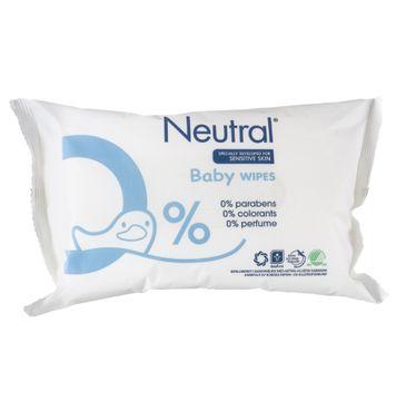 Neutral Baby Wet Wipes chusteczki nawilżane dla dzieci 63szt