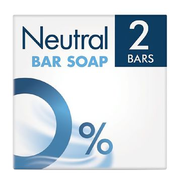 Neutral Bar Soap mydło w kostce 2x100g
