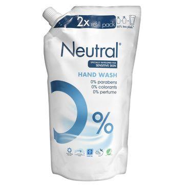 Neutral Hand Wash Refill Pack mydło do rąk w płynie wkład 500ml