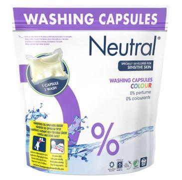 Neutral Washing Capsules kapsułki do prania do koloru 22szt