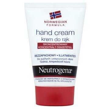 Neutrogena Formuła Norweska krem do rąk suchych bezzapachowy nawilżający 50 ml
