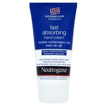 Neutrogena Formuła Norweska krem do rąk szybko wchłaniający się nawilżający 75 ml