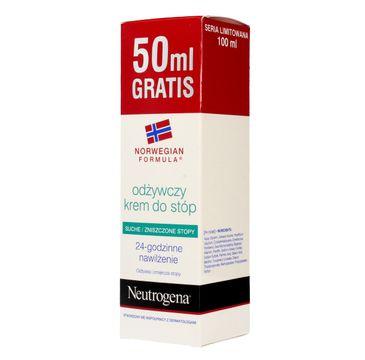 Neutrogena Formuła Norweska krem do stóp do skóry suchej i zniszczonej odżywczy 100 ml