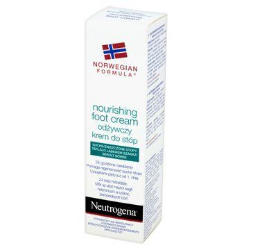 Neutrogena Formuła Norweska krem do stóp suchych i zniszczonych długotrwałe nawilżenie do 24h 50 ml