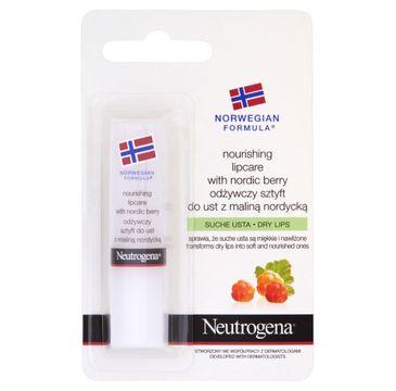 Neutrogena Formuła Norweska odżywczy sztyft do ust ochronny 4.8 g