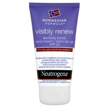 Neutrogena Formuła Norweska Visibly Renew krem do rąk nawilżający 75 ml