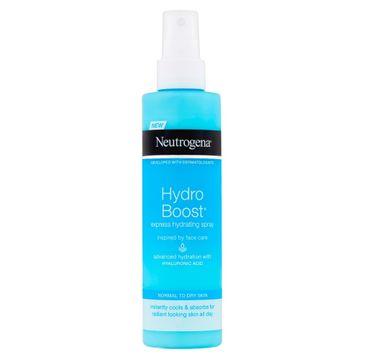 Neutrogena Hydro Boost Ekspresowy Spray nawilżający do ciała 200ml