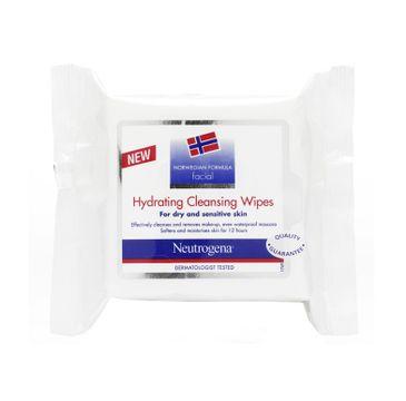 Neutrogena Norwegian Formula Facial Hydrating Cleansing Wipes nawilżające chusteczki do oczyszczania twarzy 25szt