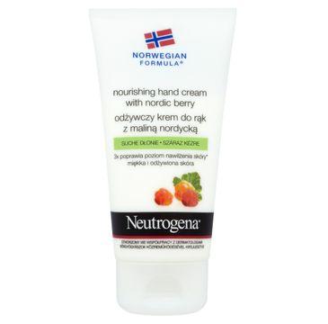 Neutrogena Norwegian Formula Nourishing Hand Cream odżywczy krem do rąk Malina Nordycka 75ml