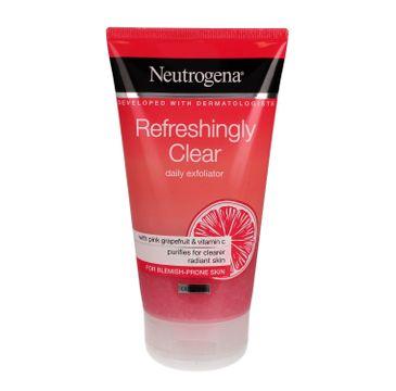 Neutrogena Refreshingly Clear Peeling do twarzy odświeżający 150 ml