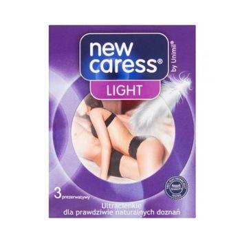 New Caress Light lateksowe prezerwatywy 3szt