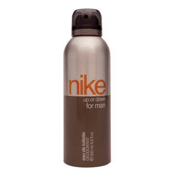 Nike Up or Down Man dezodorant w sprayu dla mężczyzn 200 ml