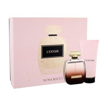 Nina Ricci L'Extase zestaw woda perfumowana spray 80ml + balsam do ciała 100ml