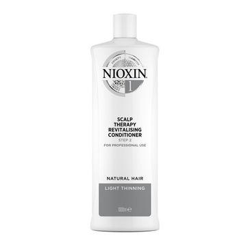 Nioxin System 1 Scalp Therapy Revitalising Conditioner odżywka przeciw wypadaniu włosów normalnych lekko przerzedzonych (1000 ml)