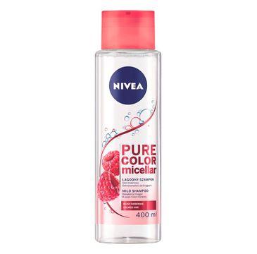 Nivea – Pure Color Micellar Szampon do włosów farbowanych (400 ml)