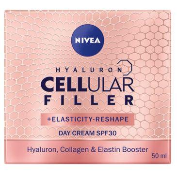 Nivea – Hyaluron Cellular Filler + Elasticity Reshape przeciwzmarszczkowy krem na dzień SPF30 (50 ml)