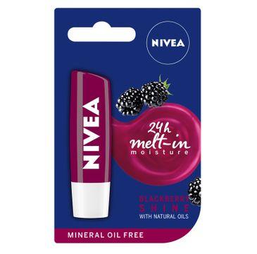 Nivea Lip Care Pomadka ochronna do ust Blackberry Shine 4.8 g